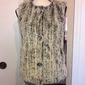 True Grit -Fur vest -Size XS